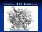 depiction of u s isolationism