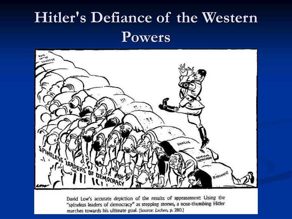 Hitler's Defiance of the Western Powers