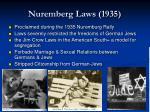 nuremberg laws 1935