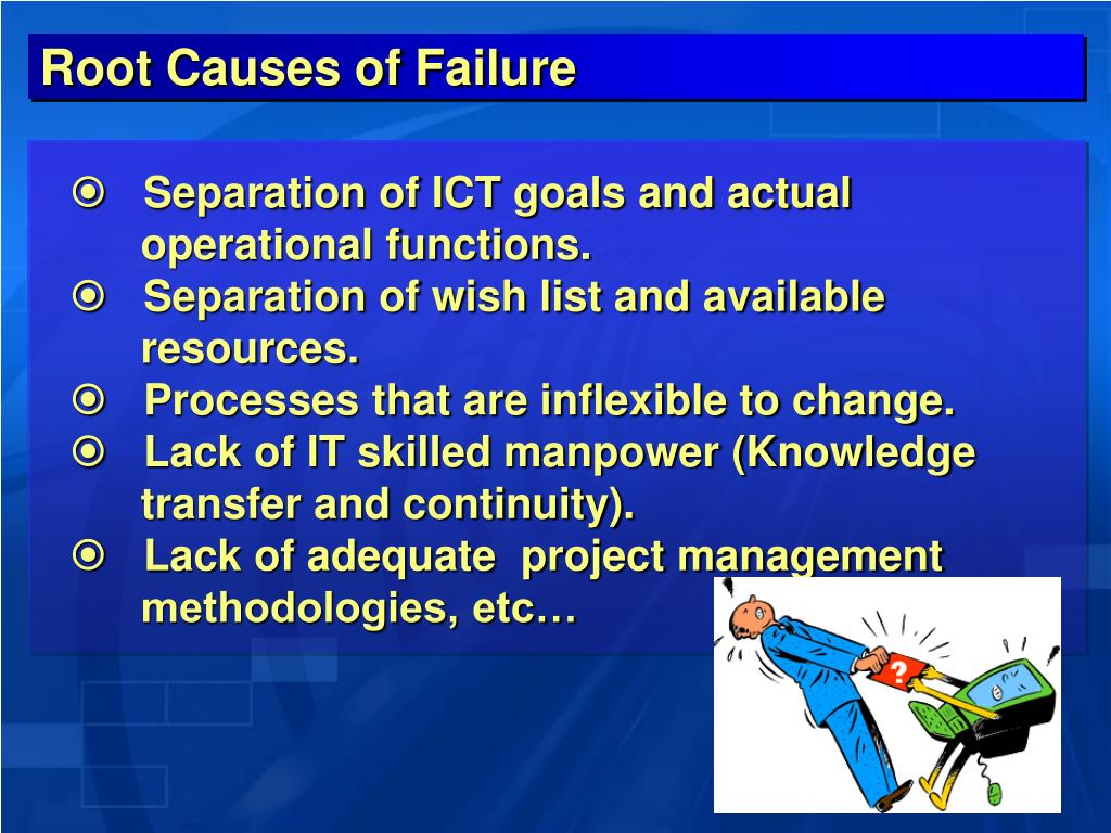 Root Causes of Failure