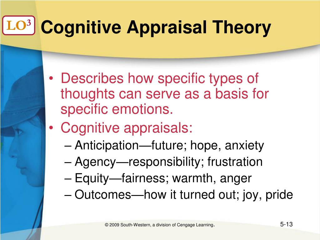 Cognitive Appraisal Theory