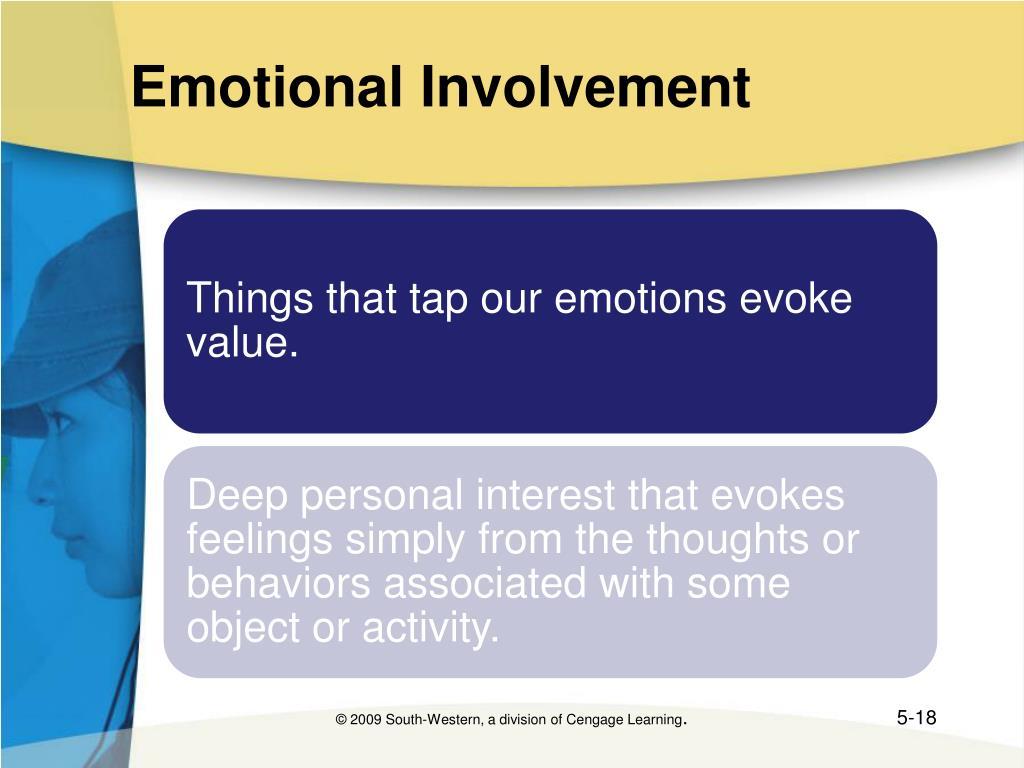 Emotional Involvement