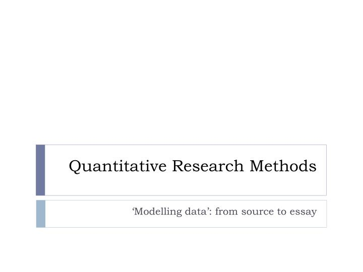 res711 r7 wk6 matrix quantitative research methods Matrix research uses state-of-art quantitative techniques to create valuable insights from market research statistics examples of our analytical techniques include multivariate analysis, structural equation modeling and conjoint analysis because our experts collaborate closely with our.