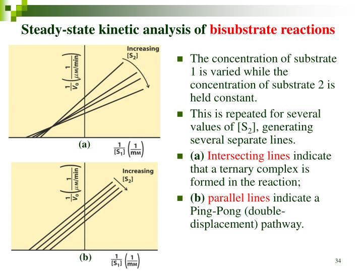 Steady-state kinetic analysis of