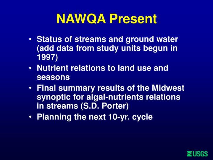 NAWQA Present
