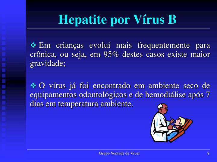 Hepatite por Vírus B