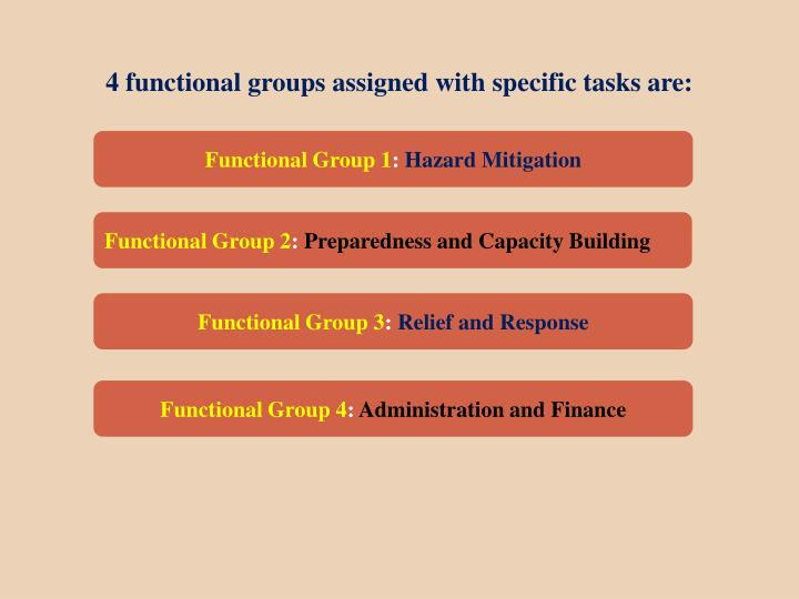 Functional Group 1