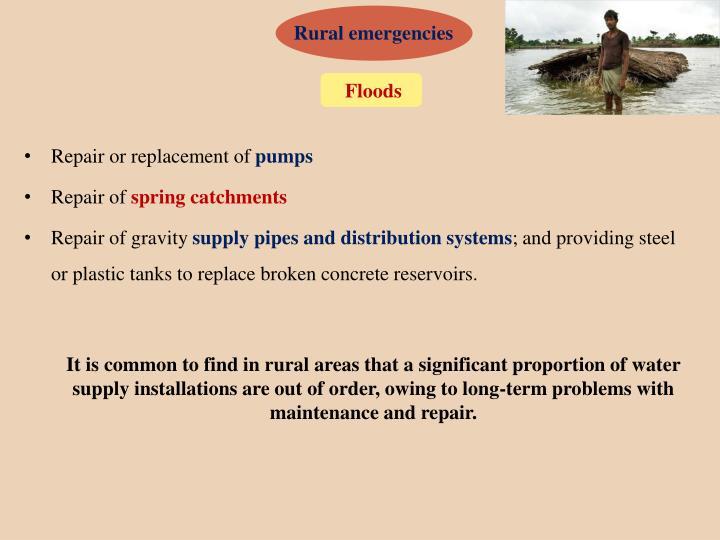 Rural emergencies