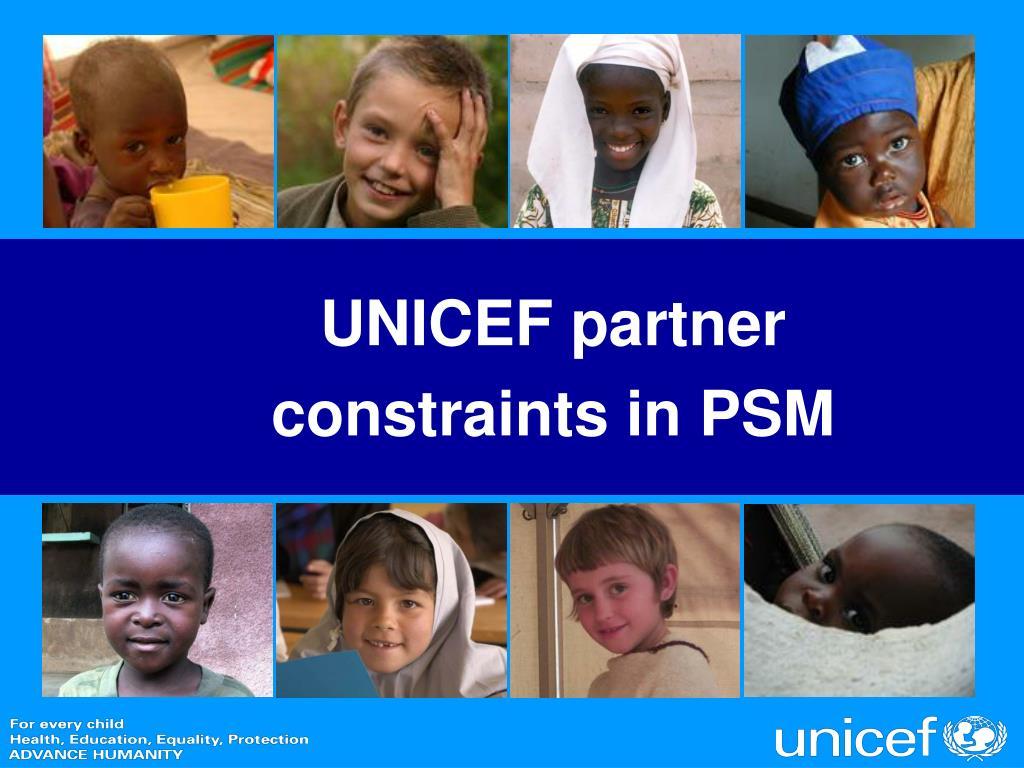 UNICEF partner