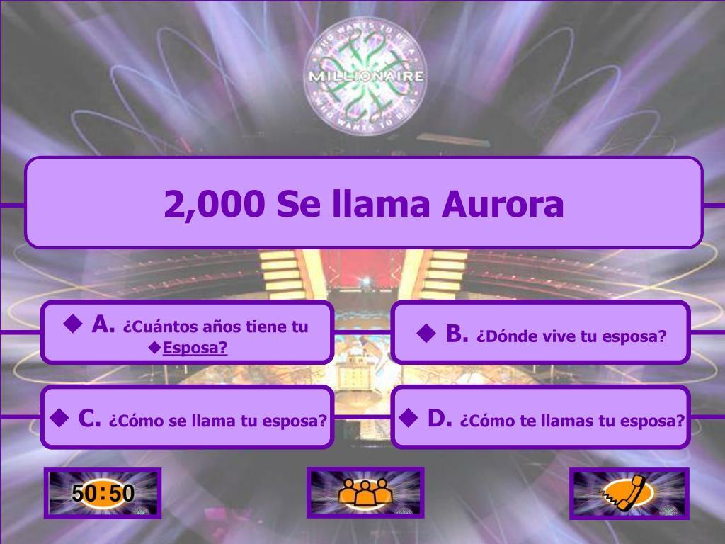 2,000 Se llama Aurora