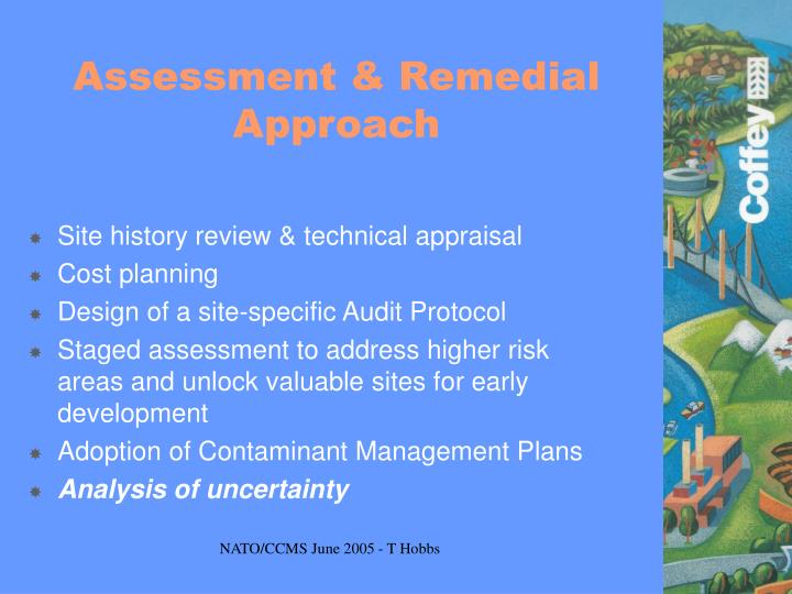 Assessment & Remedial Approach