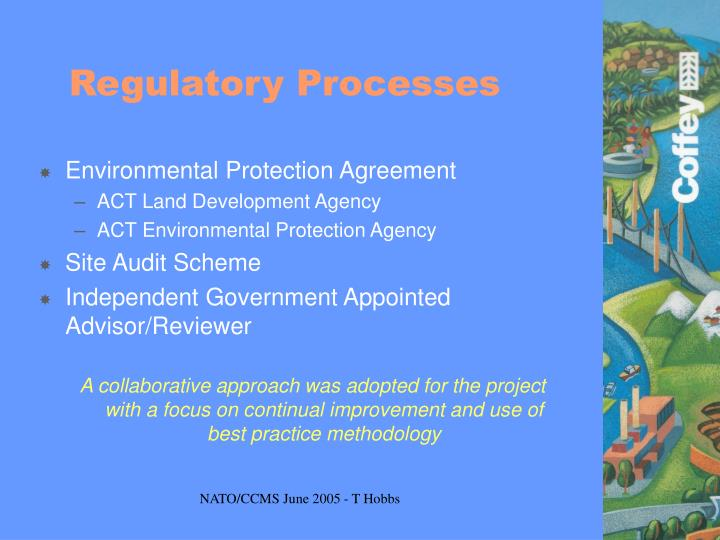 Regulatory Processes