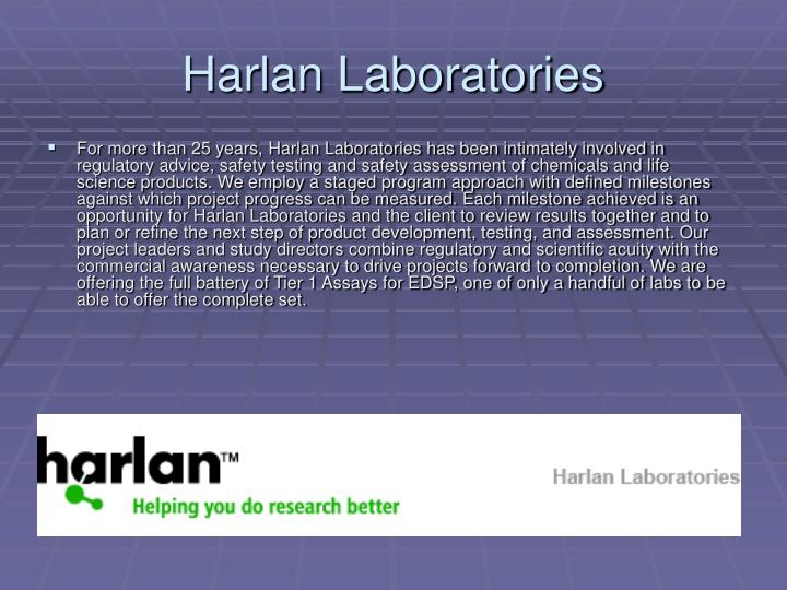 Harlan Laboratories