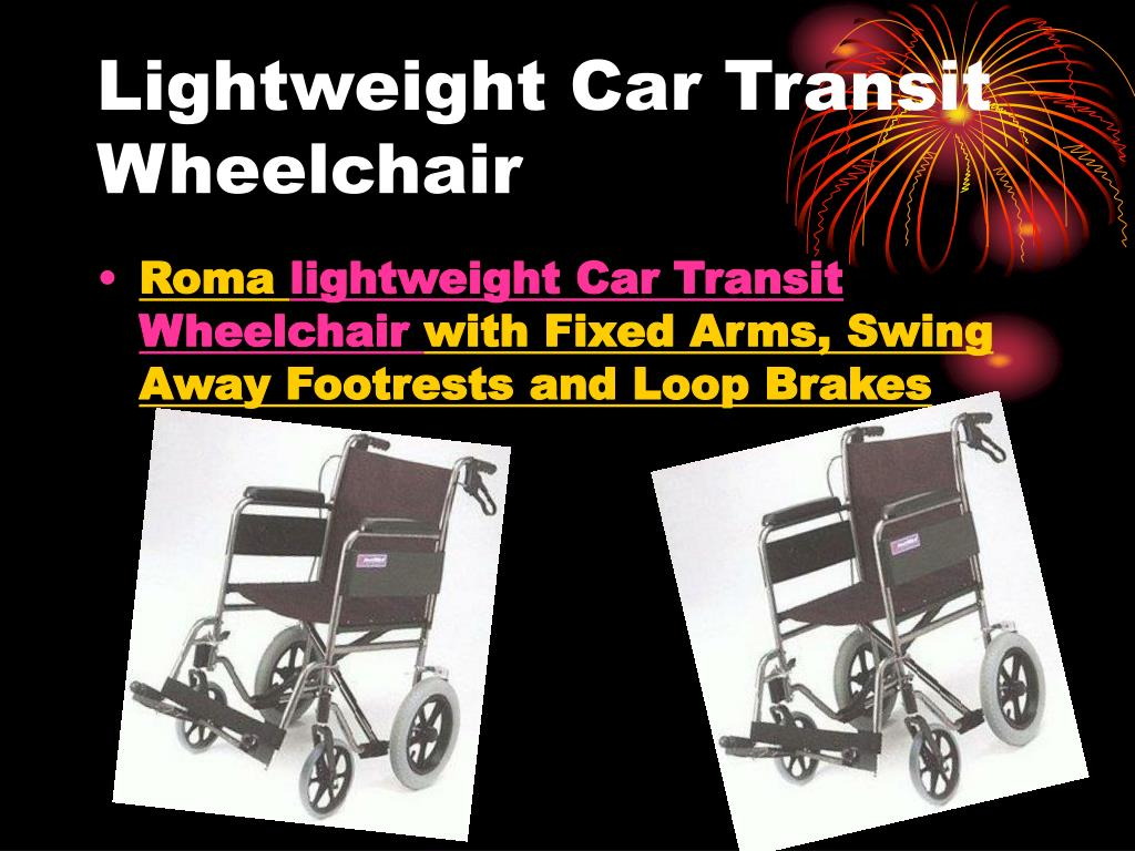 lightweight car transit wheelchair l.