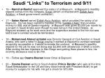 saudi links to terrorism and 9 117