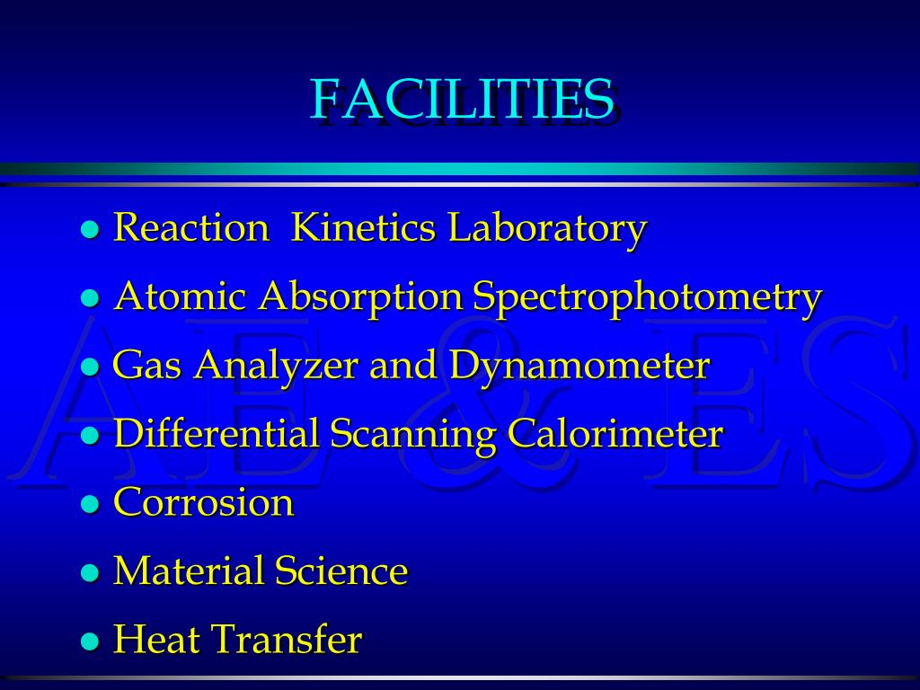 Reaction  Kinetics Laboratory