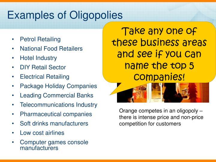 soft drink industry oligopoly