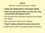 sepia sylvester stallone and queen latifah