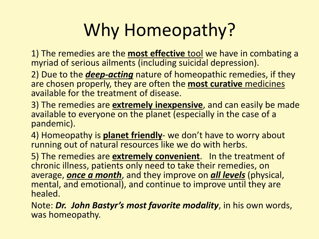 PPT - Visual Homeopathy Identifying the Most Common Homeopathic