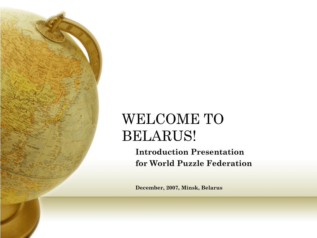 welcome to belarus l.