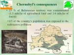 chernobyl s consequences