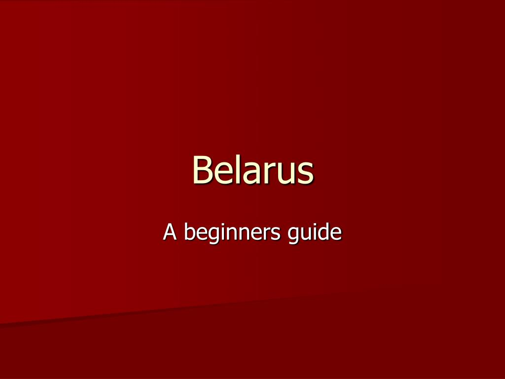 belarus l.