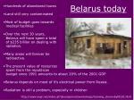 belarus today