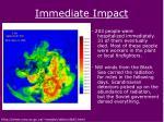 immediate impact