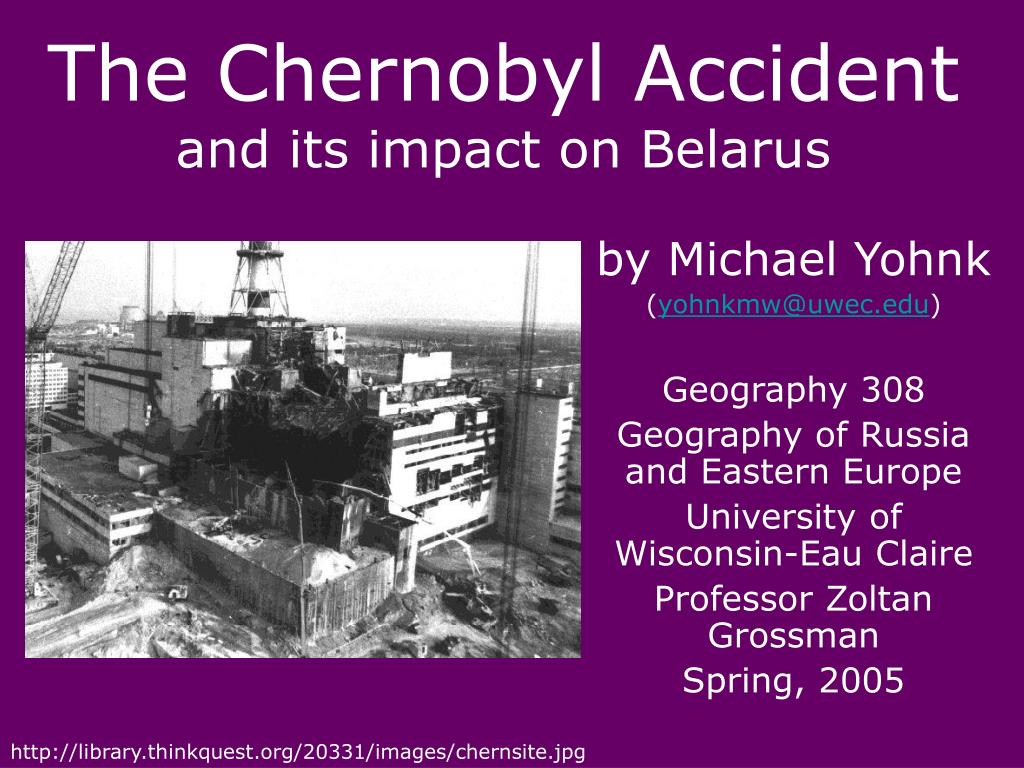 the chernobyl accident and its impact on belarus l.