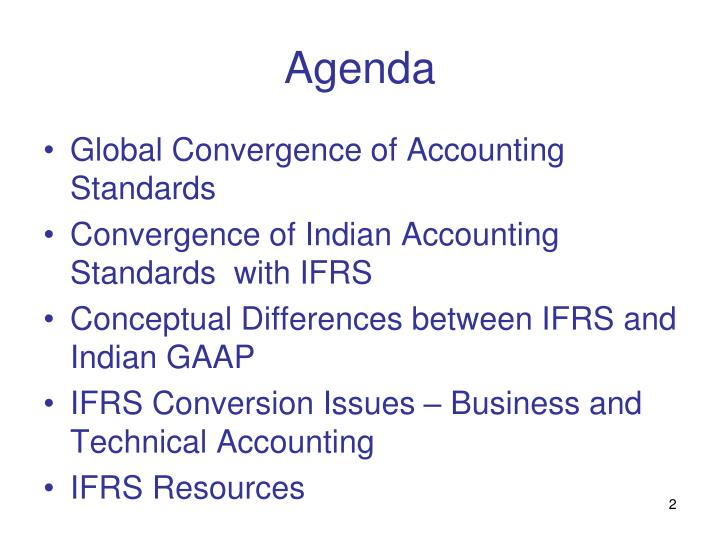 Ppt ifrs convergence in india powerpoint presentation id1044312 agenda maxwellsz