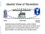 idealist view of revelation