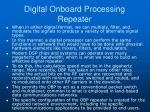 digital onboard processing repeater1