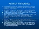 harmful interference