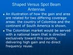 shaped versus spot beam antennas2