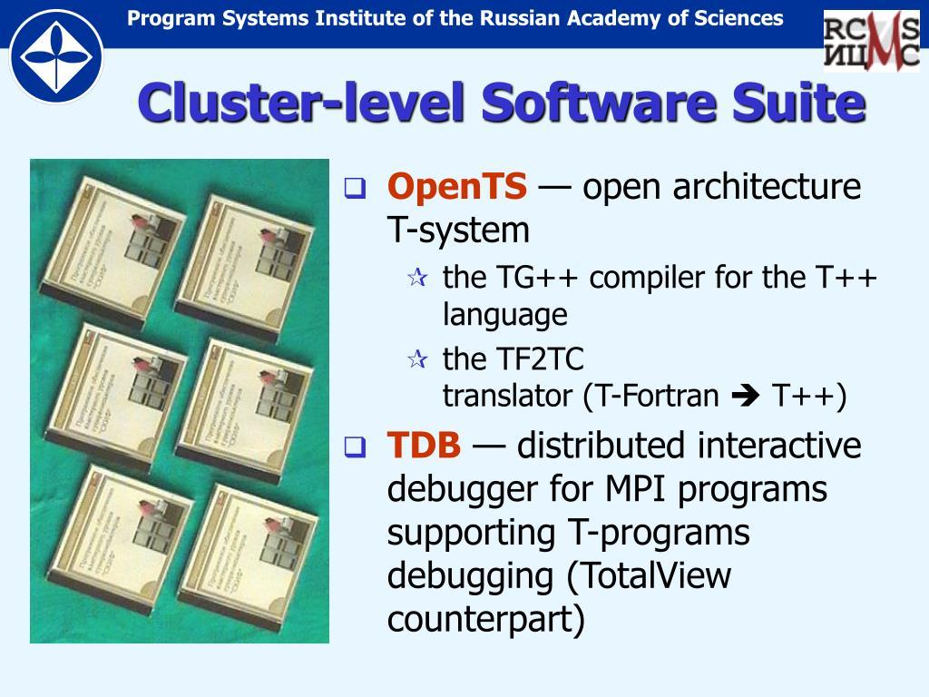 Cluster-level Software Suite