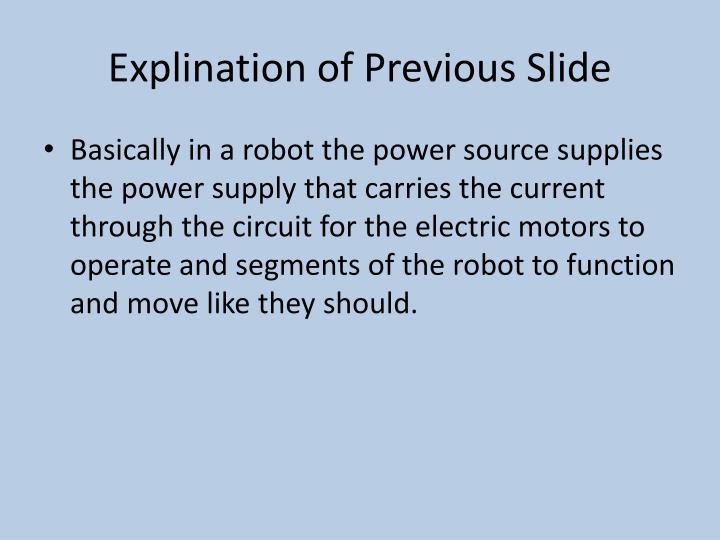 Explination of Previous Slide
