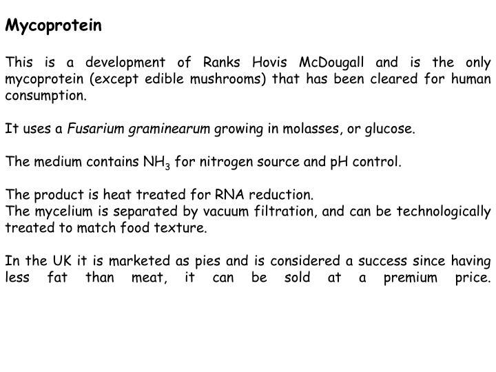 Mycoprotein