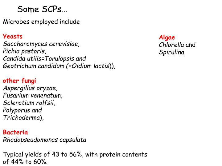 Some SCPs…