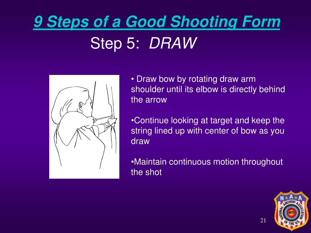 9 Steps of a Good Shooting Form