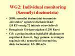 wg2 individual monitoring szem lyi dozimetria