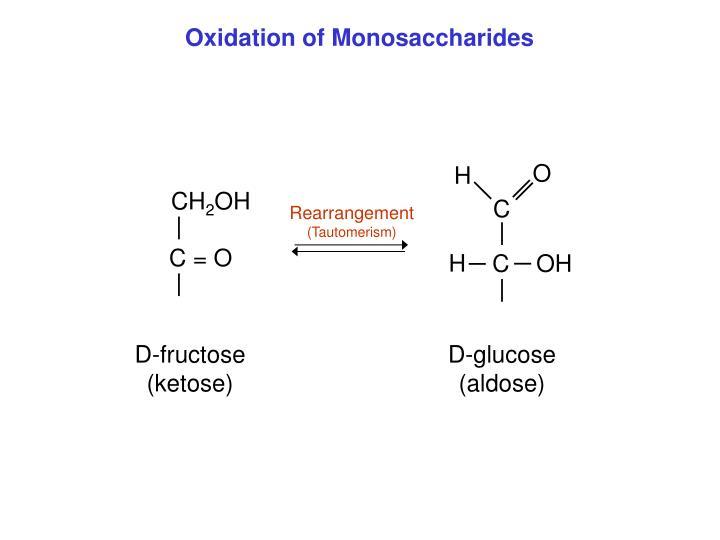 Oxidation of Monosaccharides
