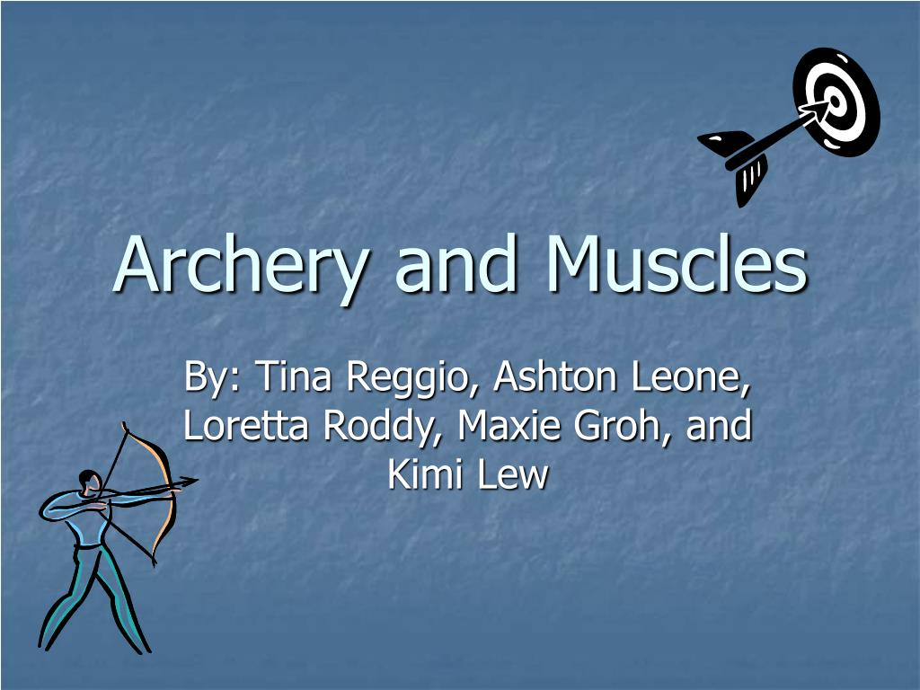 archery and muscles