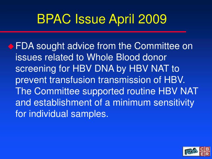 BPAC Issue April 2009