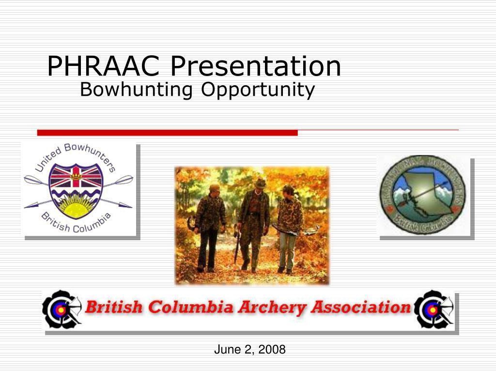 phraac presentation