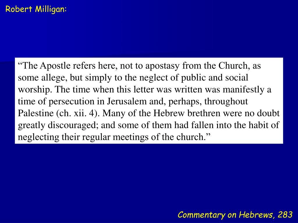 Robert Milligan: