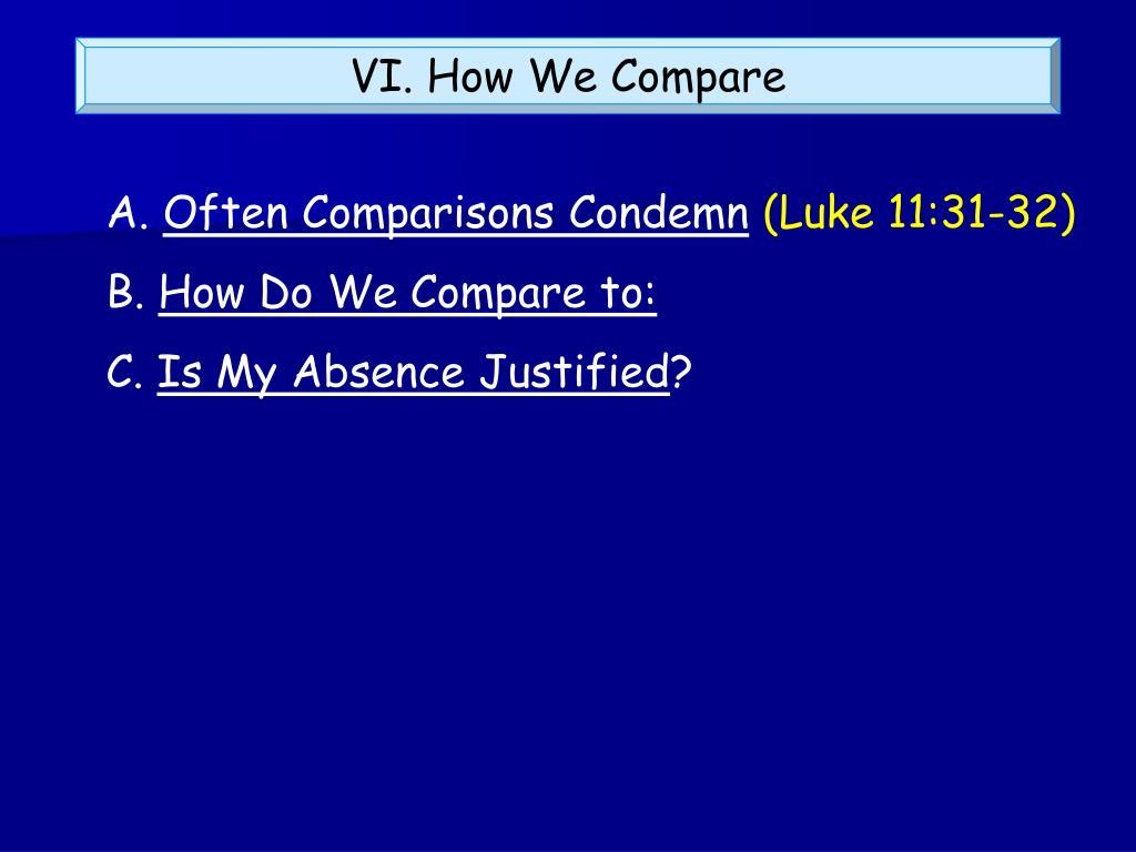 VI. How We Compare