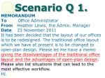 scenario q 1