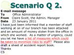 scenario q 2
