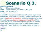 scenario q 3