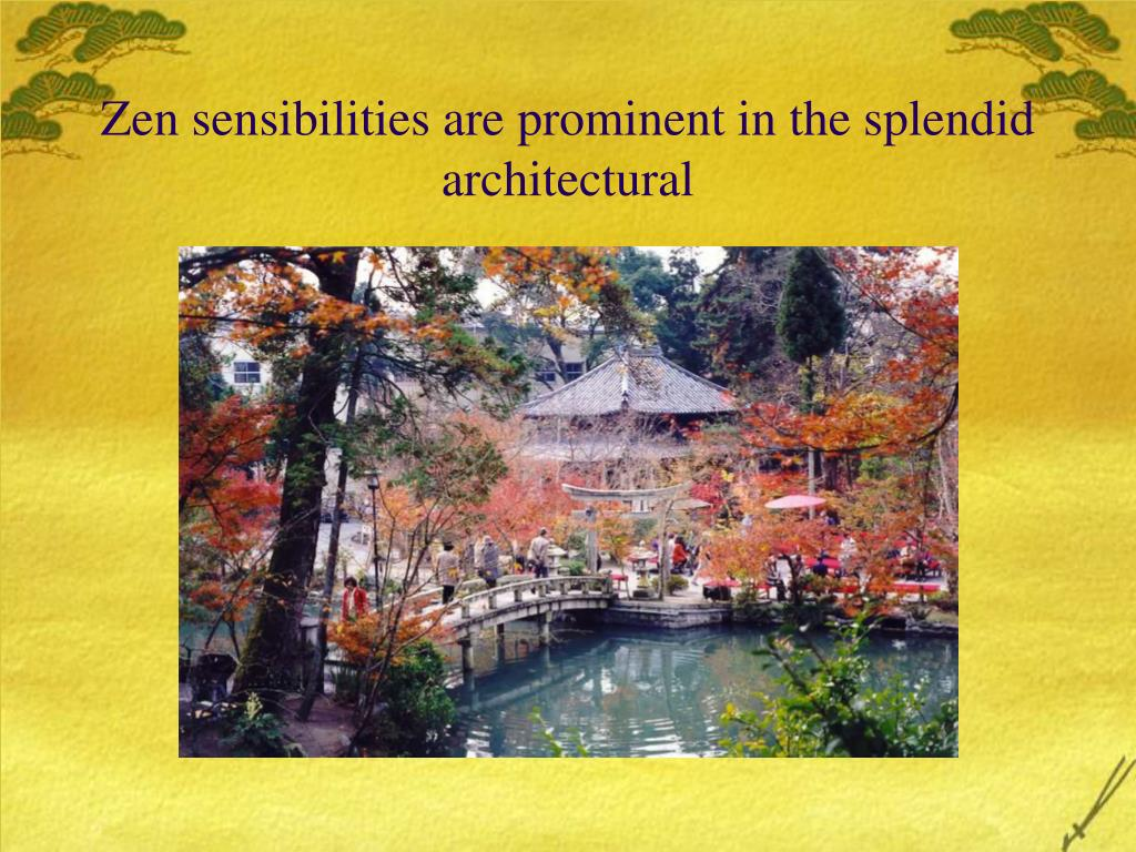 Zen sensibilities are prominent in the splendid architectural